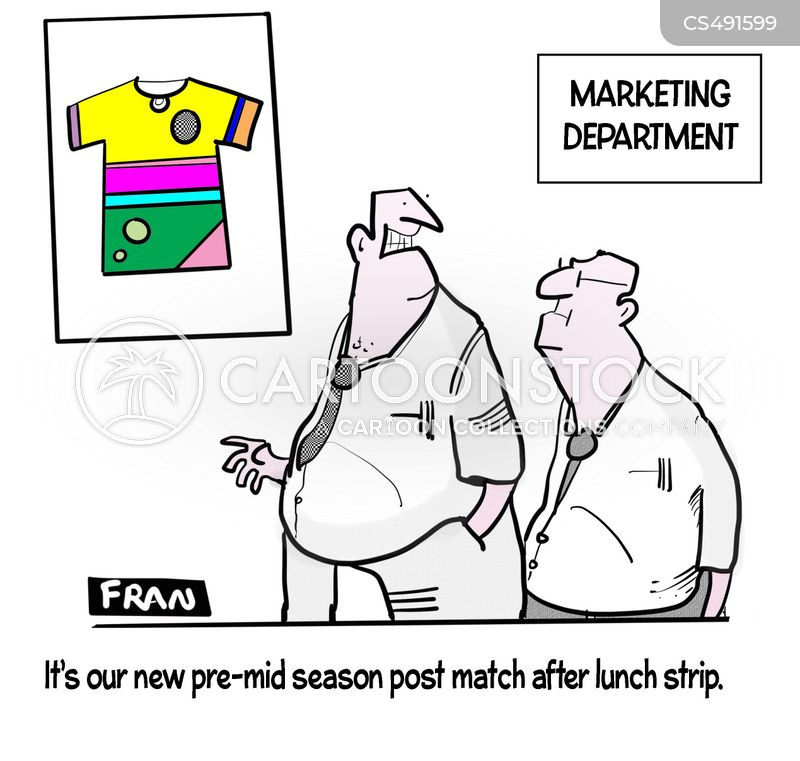 football strip cartoon