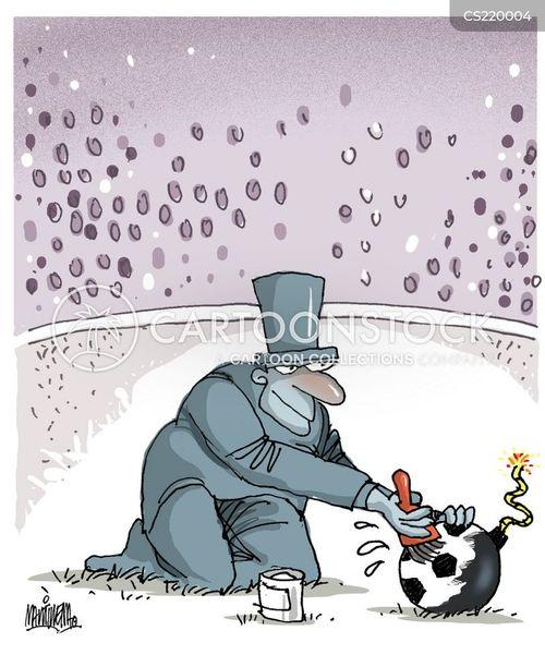 explosiveness cartoon