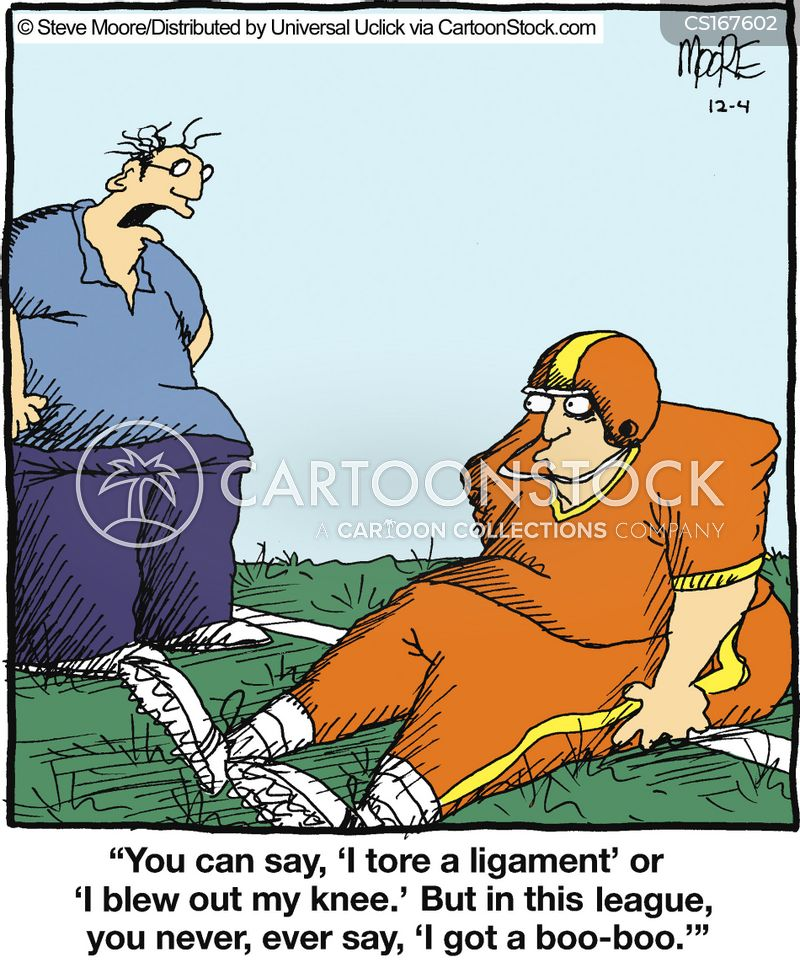 ligament cartoon