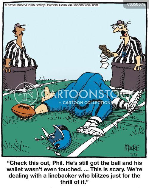tacklers cartoon