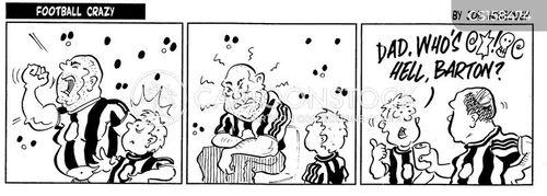 newcastle cartoon