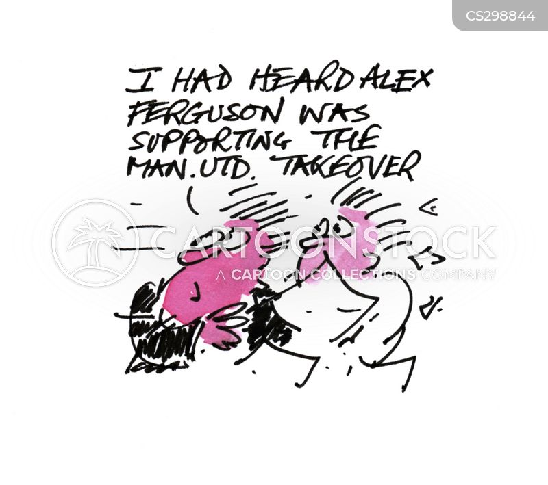 manchester utd cartoon