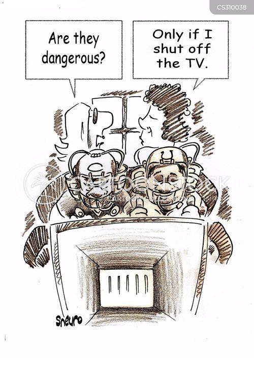 maniacs cartoon