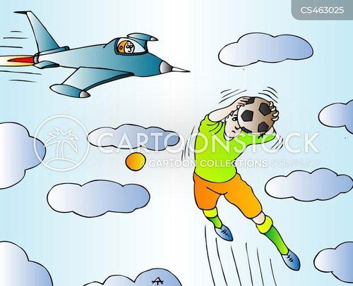 goal-keeper cartoon