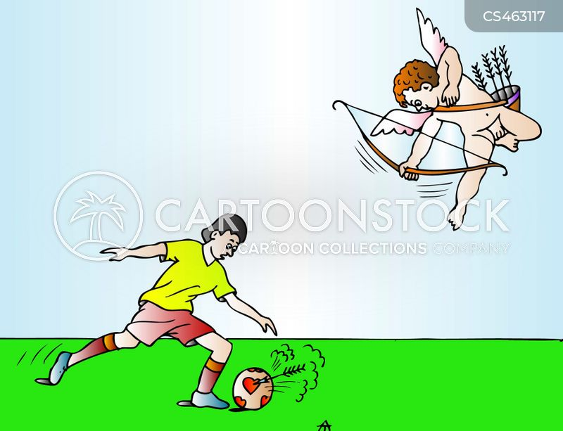 soccer tournaments cartoon