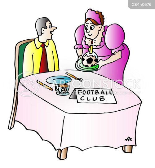 soccer club cartoon