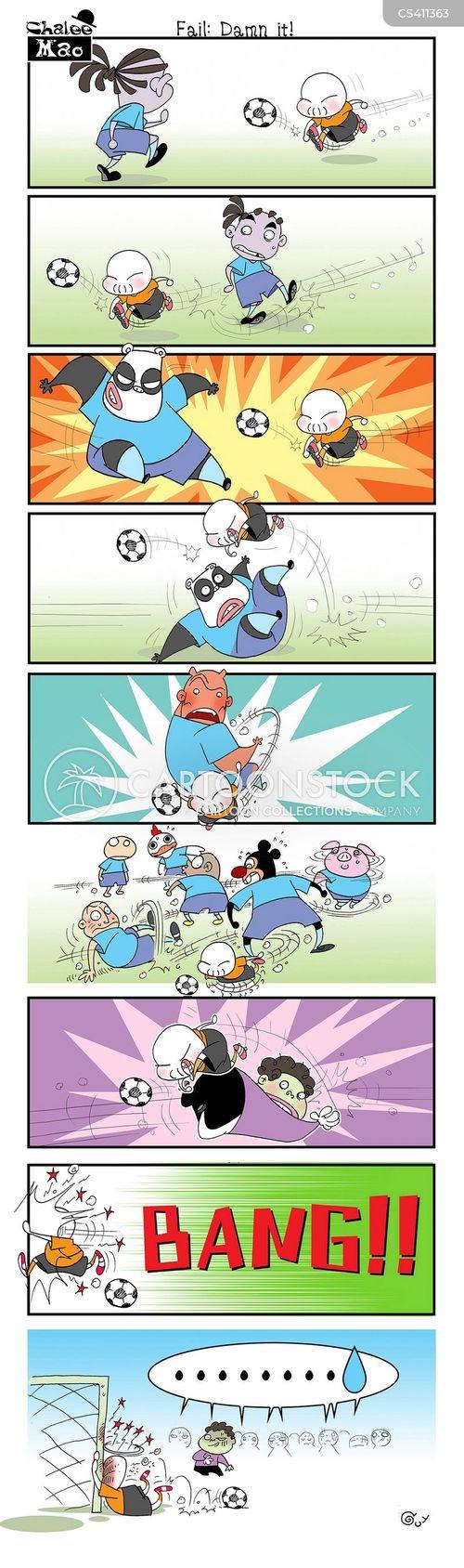 football tournaments cartoon