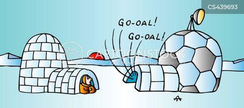 football coverage cartoon