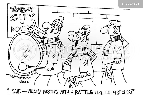 rattles cartoon