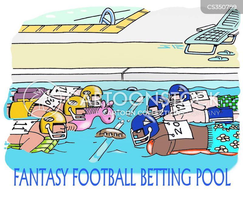 sports bet cartoon