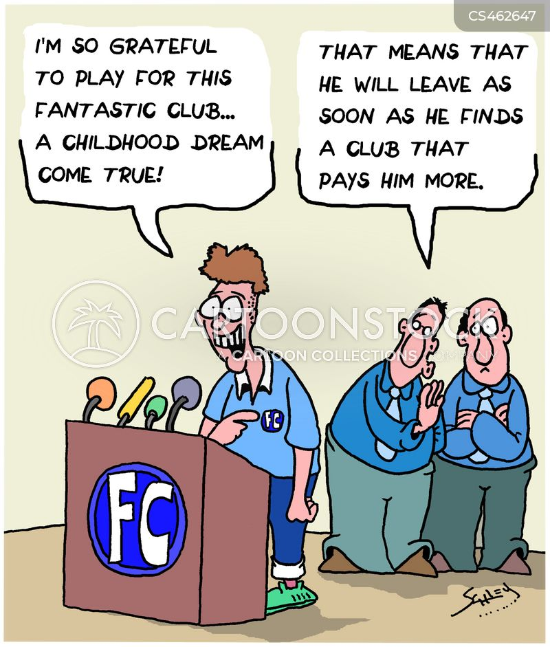 transfer season cartoon