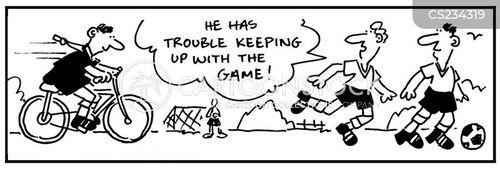 keeping up cartoon