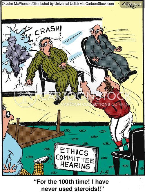 allegation cartoon