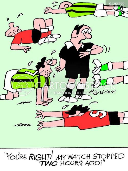 extra time cartoon