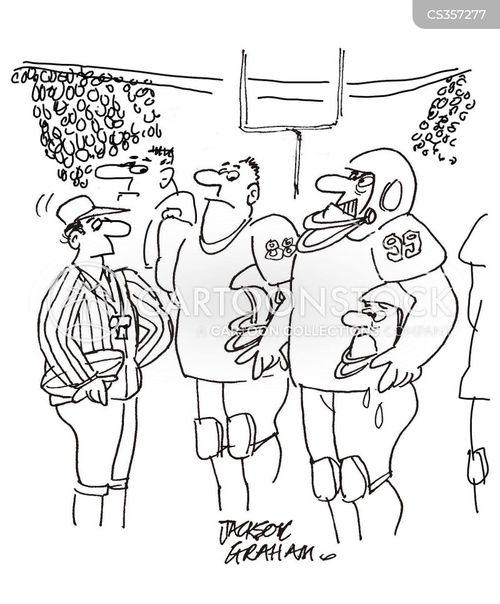 america football cartoon