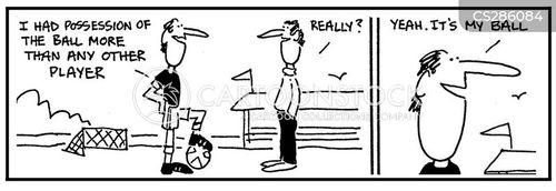 dribbler cartoon