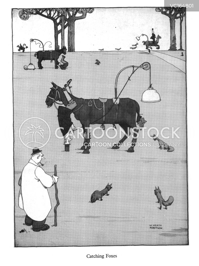 Fox Hunters cartoons, Fox Hunters cartoon, funny, Fox Hunters picture, Fox Hunters pictures, Fox Hunters image, Fox Hunters images, Fox Hunters illustration, Fox Hunters illustrations