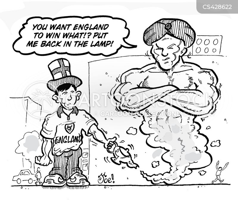england supporters cartoon