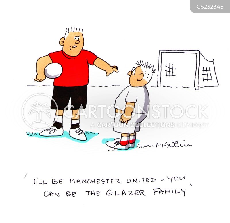 glazer families cartoon