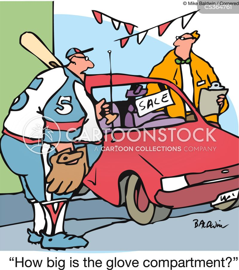 baseball glove cartoon