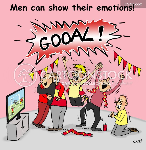 football celebrations cartoon