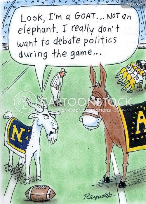democratic donkey cartoon
