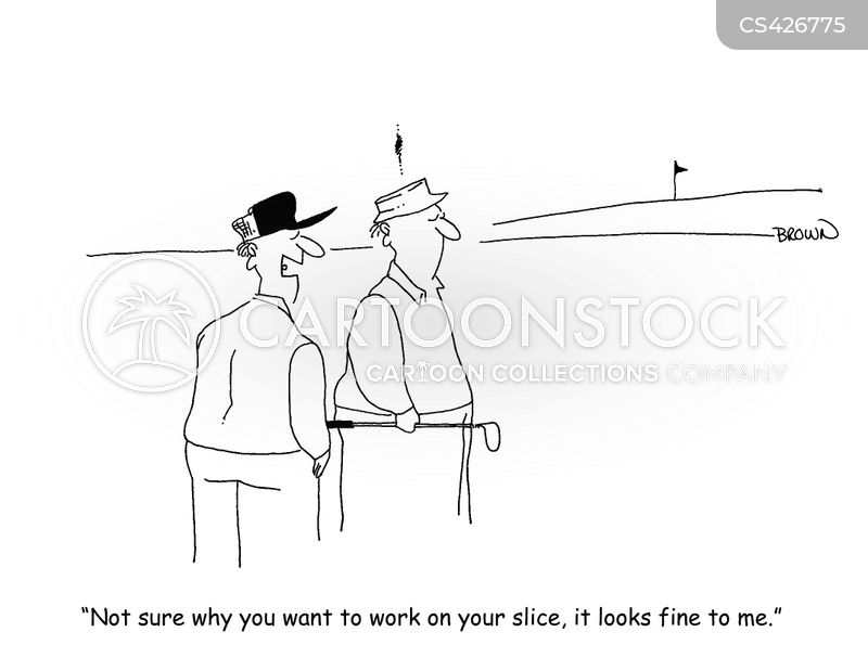 golf outing cartoon