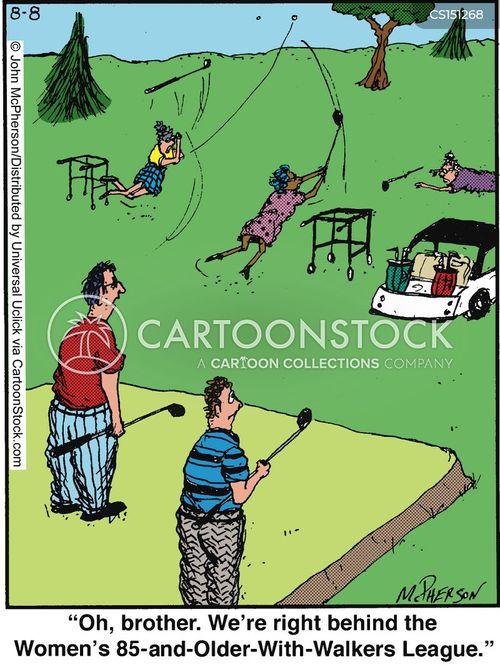 behind cartoon
