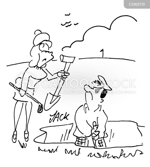 dug-out cartoon