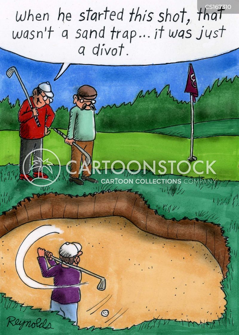 bunker cartoon