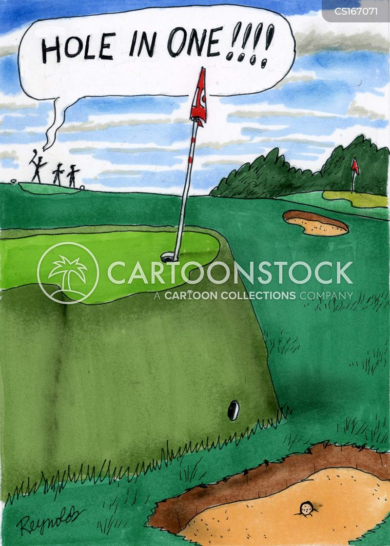 sand trap cartoon