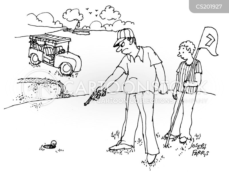 country clubs cartoon