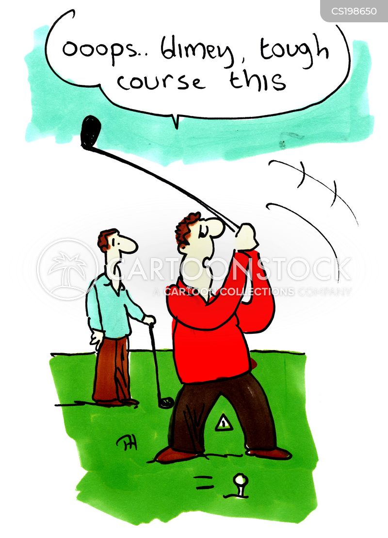 Bad Golfer Cartoons And Comics Funny Pictures From Cartoonstock