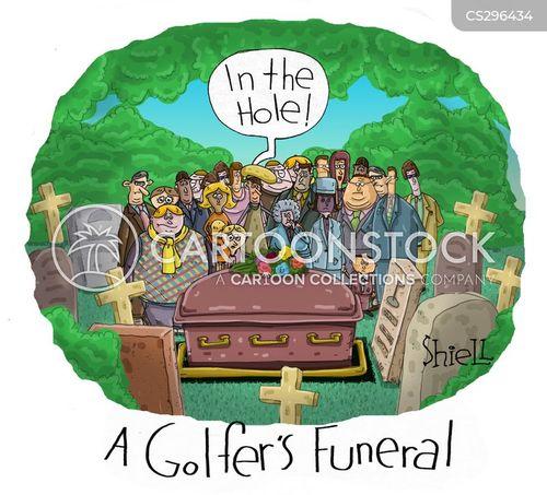 hole-in-one cartoon