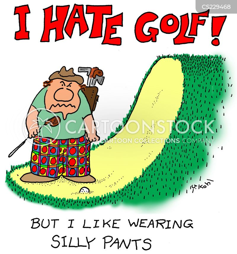 Golfing Pants cartoons, Golfing Pants cartoon, funny, Golfing Pants picture, Golfing Pants pictures, Golfing Pants image, Golfing Pants images, Golfing Pants illustration, Golfing Pants illustrations