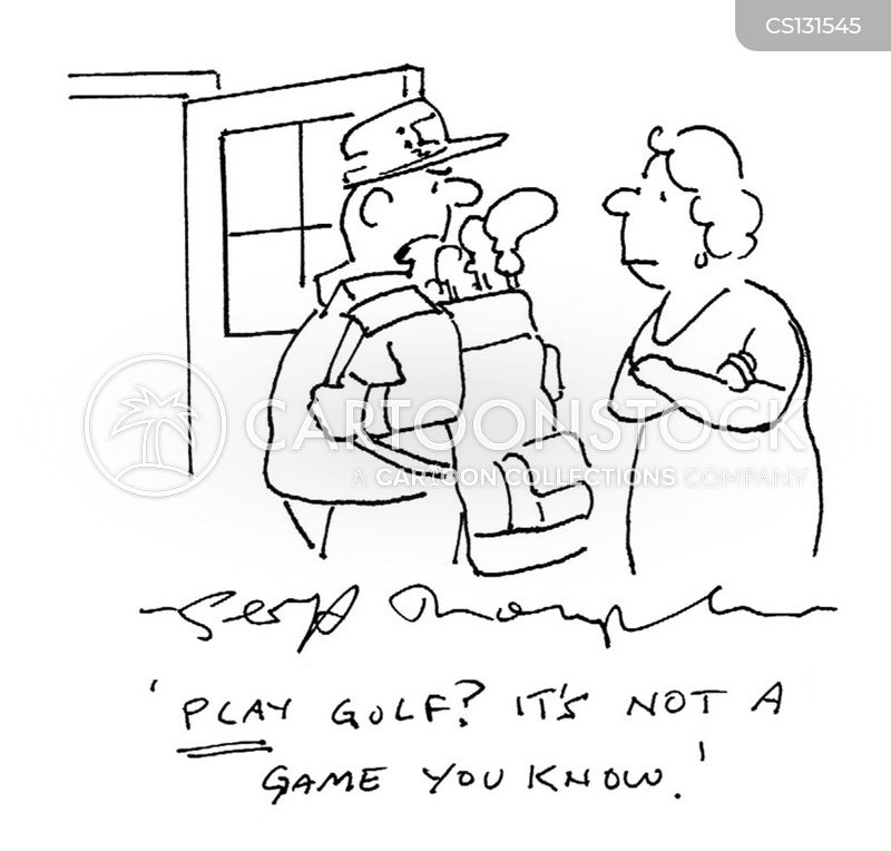 golf-player cartoon