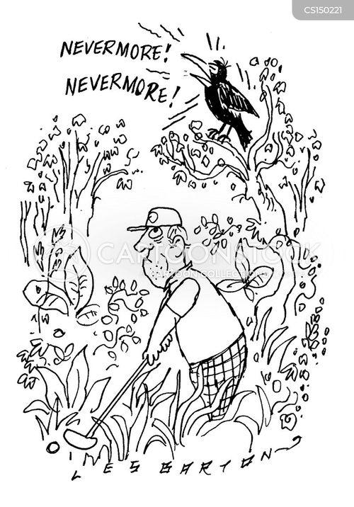 in the rough cartoon