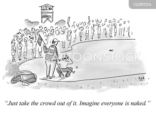 performance anxieties cartoon