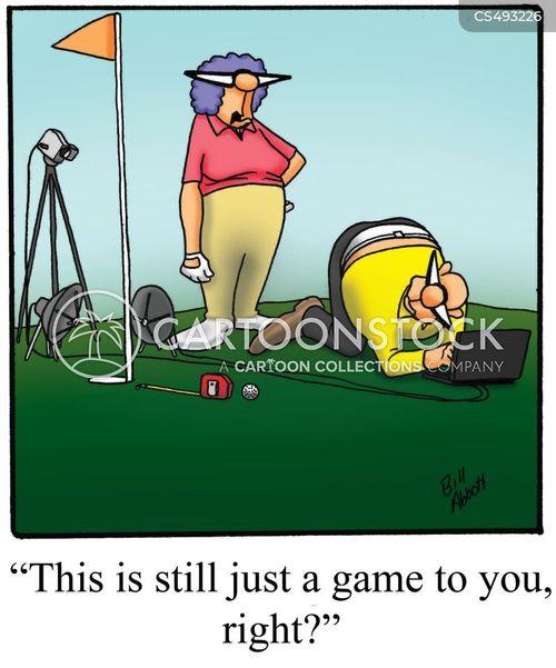 over-enthusiastic cartoon