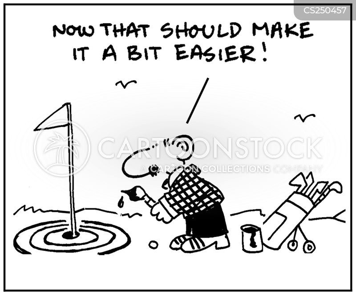 bullseyes cartoon