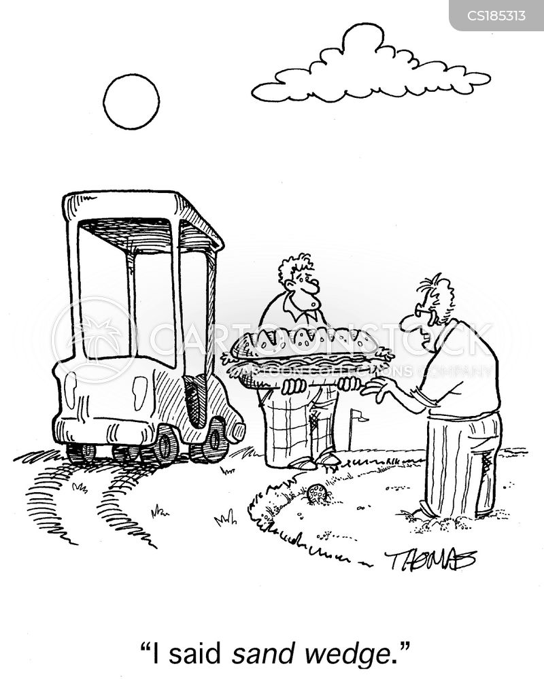 caddies cartoon