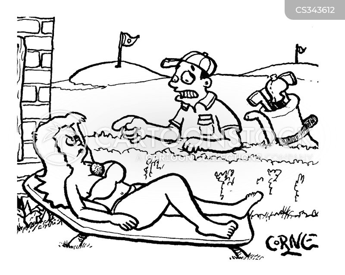 bad aim cartoon