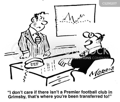soccer teams cartoon