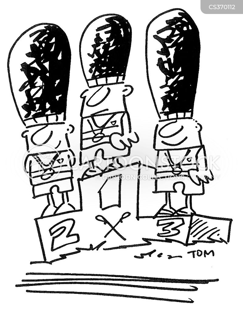 winners podium cartoon