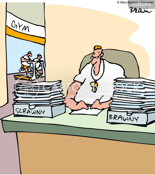 brawn cartoon
