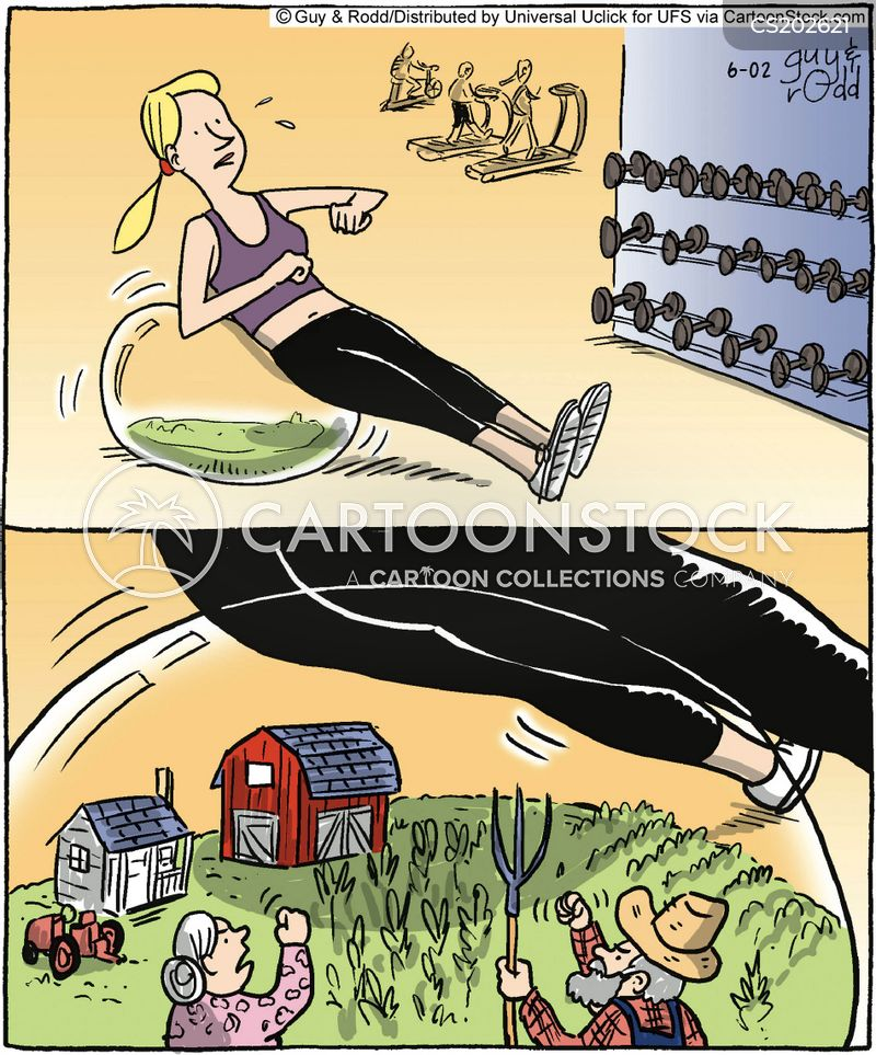 sit ups cartoon
