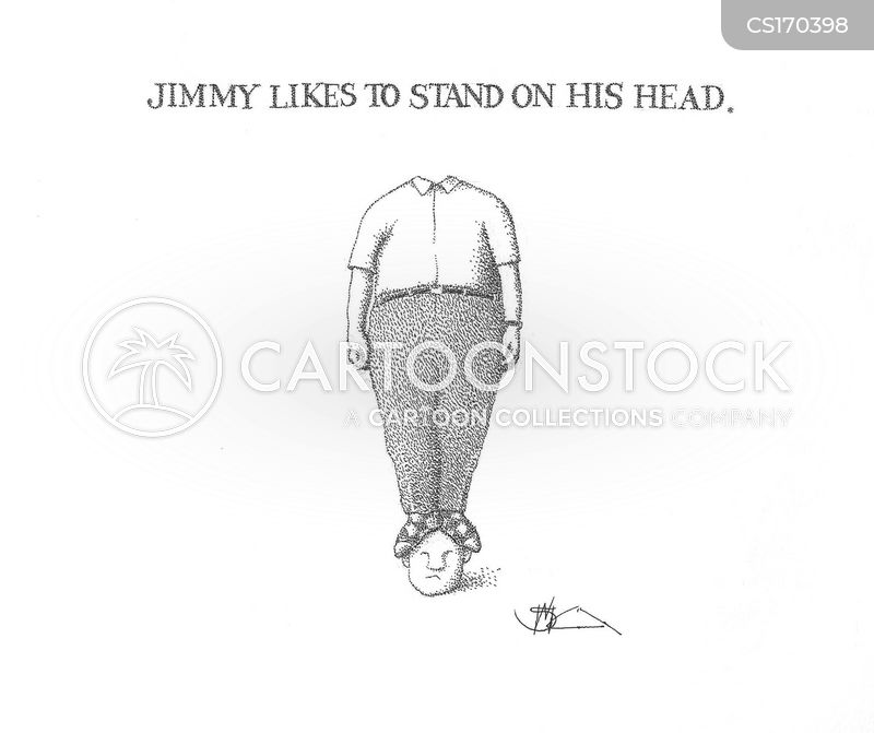Headstand cartoons, Headstand cartoon, funny, Headstand picture, Headstand pictures, Headstand image, Headstand images, Headstand illustration, Headstand illustrations