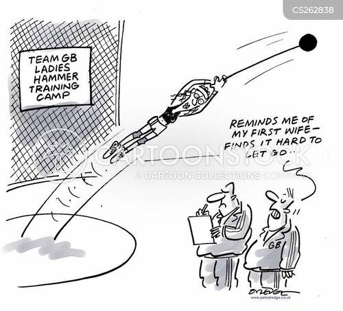 discus cartoon