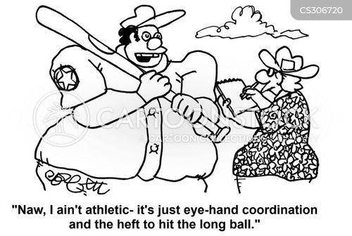 hand-eye coordination cartoon