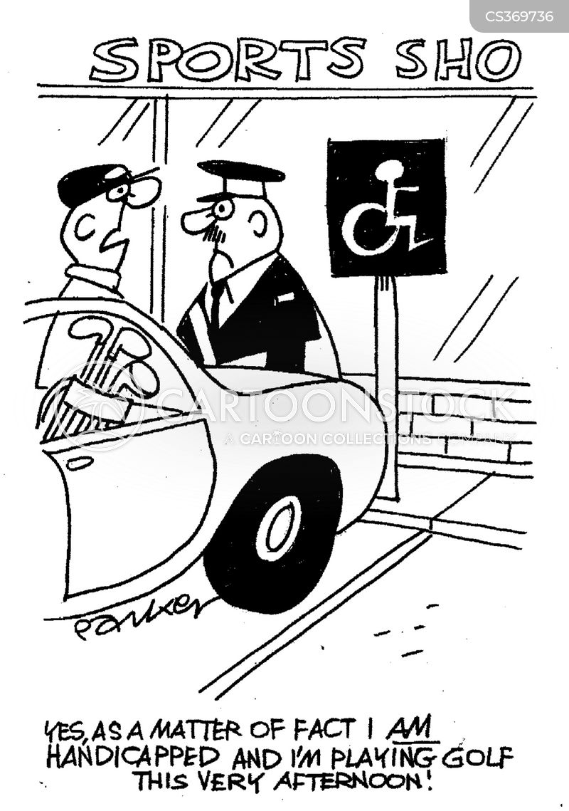 Handicapped Parking Cartoons And Comics Funny Pictures